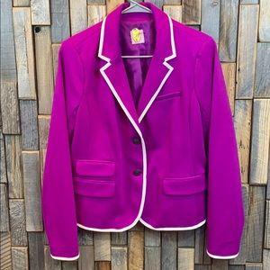 The Academy Blazer by GAP Size 8 Fuchsia Y6